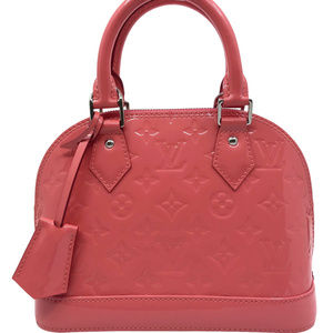Louis Vuitton Handbag Monogram Vernis Alma BB Purs